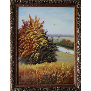 """""""Осенний день"""" в раме"""