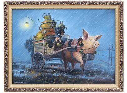 Всадник на свинье