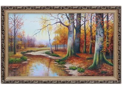 Лес, глубокая осень
