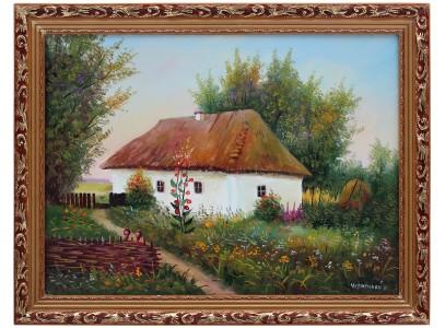 Украинская тематика с хатой