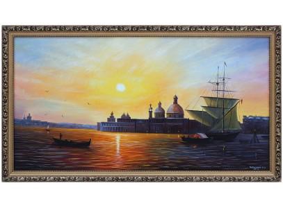Заход солнца венеция