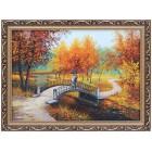Осенний мостик влюбленных