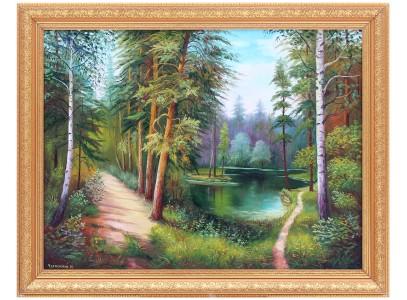 Летний смешанный лес