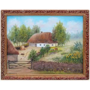 Украинская тематика ( сельская Хата)
