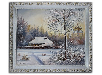 Зимняя хата