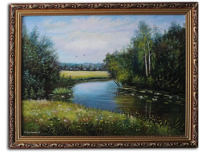 Чернигов, затока реки  Десна