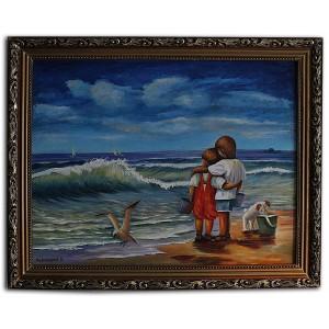 Дети у моря