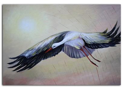 Летящий Аист