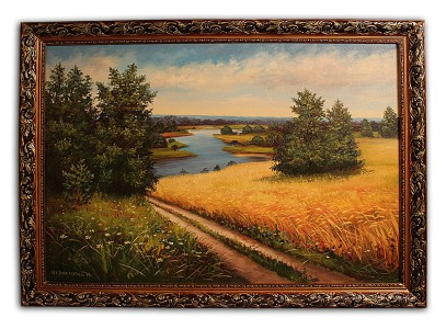 Пшеничное поле в Киевсом р-не